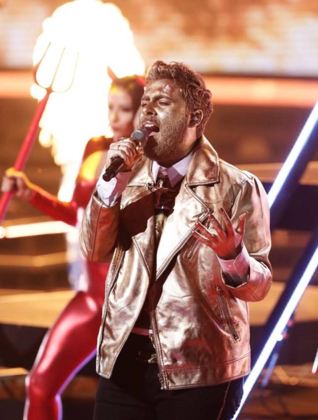The X Factor Andrea Faustini