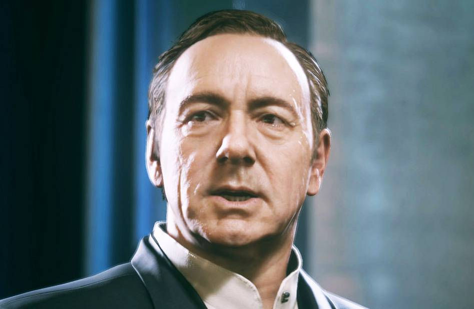 Call of Duty: Advanced Warfare – will the real Kevin Spacey please stand up?