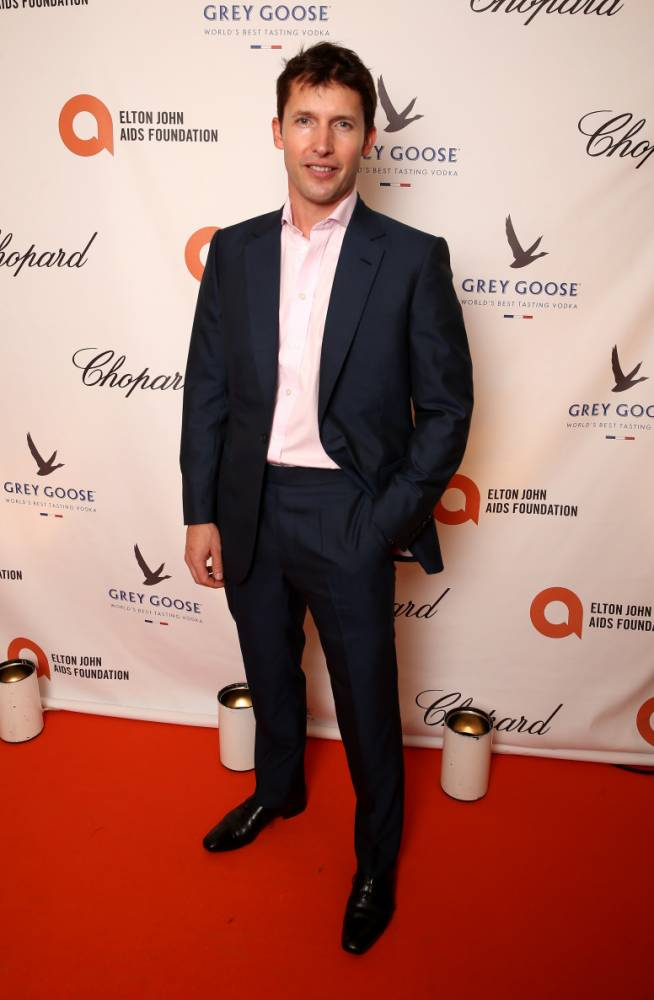 WINDSOR, ENGLAND - SEPTEMBER 04:  (PREMIUM PRICING APPLIES. MEXICO AND GREECE OUT UNTIL 12TH SEPTEMBER 2014.) James Blunt attends the Woodside End of Summer party to benefit the Elton John AIDS Foundation sponsored by Chopard and Grey Goose at Woodside on September 4, 2014 in Windsor, England.  A percentage of revenue from the sale of this image will be donated to the Elton John AIDS Foundation. EJAF is one of the world's largest HIV grant-makers ejaf.org/London  (Photo by Chris Jackson/Elton John AIDS Foundation/WireImage)