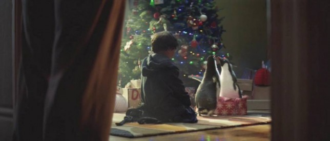 The John Lewis Christmas advert 2014 featuring Monty the penguin