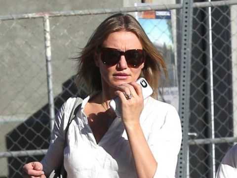 Has Benji Madden put a ring on it? Cameron Diaz seen wearing engagement ring in Hollywood