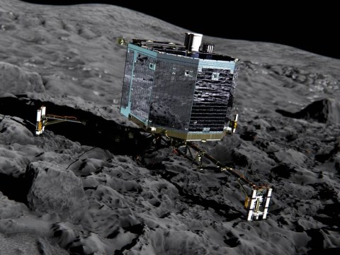 Live coverage as space probe prepares to land on comet 300 million miles away