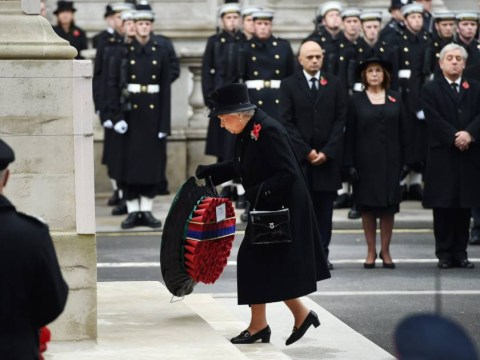 Remembrance Sunday: Queen leads Britain in mourning its dead