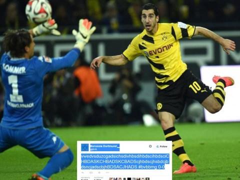 Borussia Dortmund's Twitter account lose the plot after team spurn Bundesliga chance
