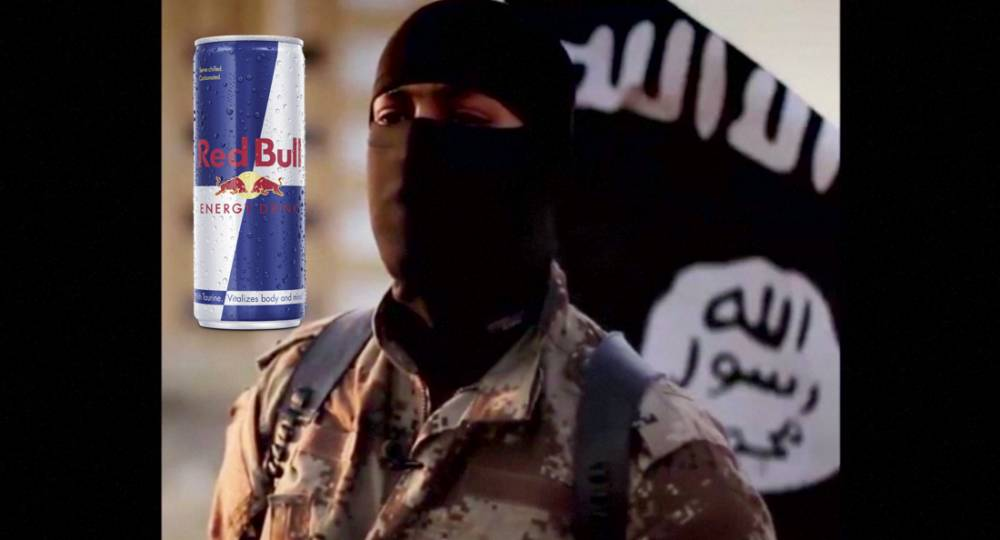 Isis fighters 'are being given Red Bull to stay alert'