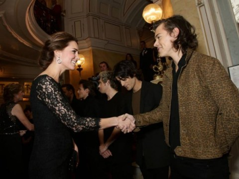 One Direction's royal engagement: When Harry Styles met Kate Middleton Duchess Of Cambridge