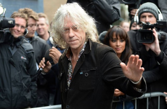 Band Aid 30: Sir Bob Geldof says Adele never returned his phone calls