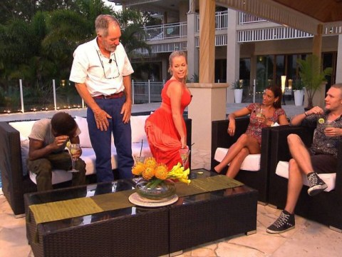 I'm A Celebrity 2014 launch: Michael Buerk's first task – learning how to twerk