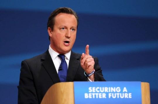 David Cameron, economy