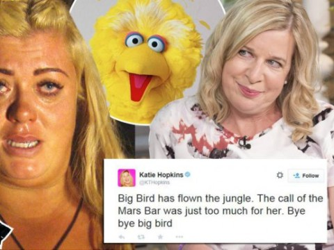 'Big Bird has flown the jungle': Katie Hopkins wastes no time reacting to Gemma Collins' I'm A Celeb exit