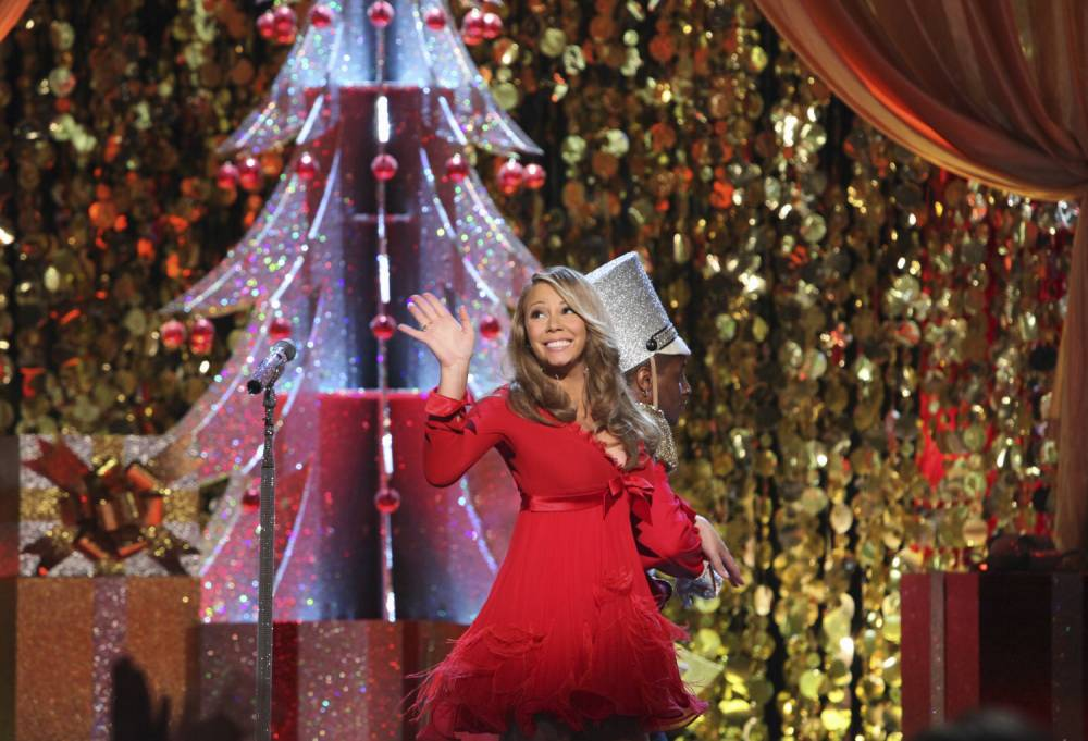 """MARIAH CAREY: MERRY CHRISTMAS TO YOU - From the Orpheum Theater in Los Angeles, ABC Television Network presents international superstar Mariah Carey in the music special, """"Mariah Carey: Merry Christmas to You,"""" MONDAY, DECEMBER 13 (9:00-10:00 p.m., ET). The special will feature Mariah performing songs from her new holiday album, Merry Christmas II You, available Tuesday, November 2nd on the Island Def Jam Music Group. (Photo by Danny Feld/ABC via Getty Images)"""