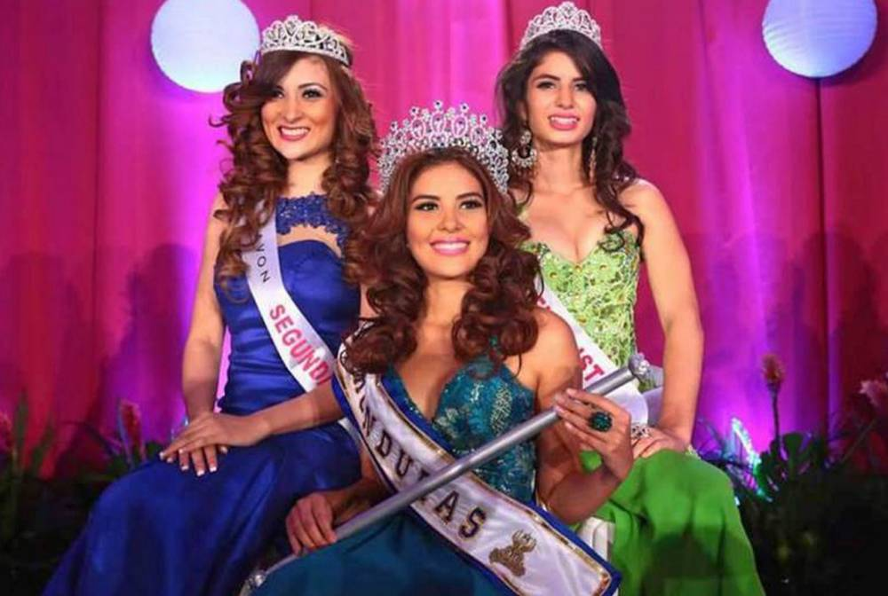 (FILES) Undated picture taken in San Pedro Sula of Maria Jose Alvarado (front), Miss Honduras World, whose body and her sister's were found on November 19, 2014 one week after both siblings had been abducted. The bodies of Maria Jose Alvarado, 19, and her sister Sofia Trinidad Hernandez were found on the banks of a river in the west of Honduras on November 19, 2014 and their presumed killer was arrested, police reported     AFP PHOTO/STR    MAXIMUM QUALITY AVAILABLESTR/AFP/Getty Images