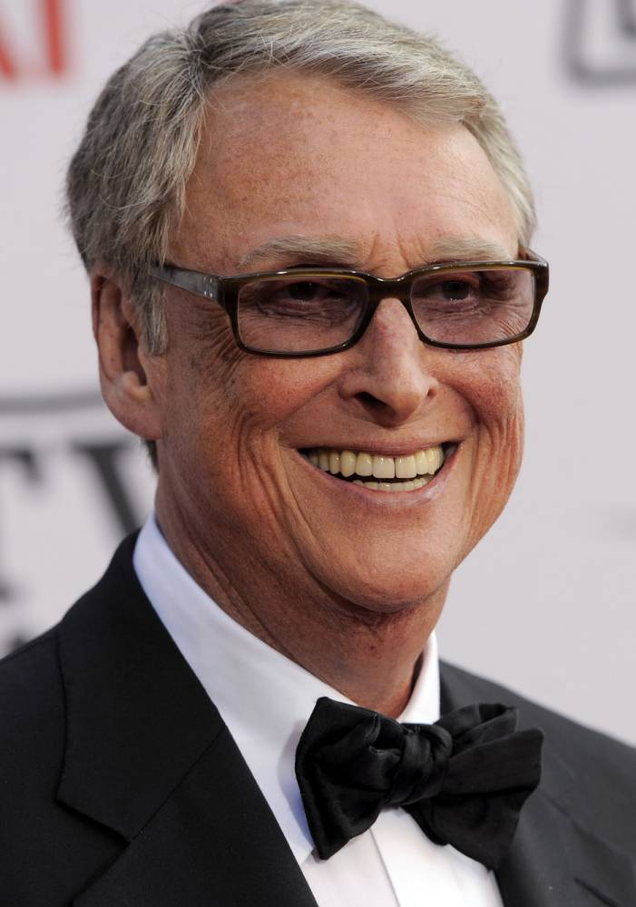 Here's to you…Mike Nichols, director of The Graduate