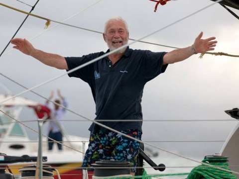 Grandfather, aged 75, comes third in solo transatlantic yacht race