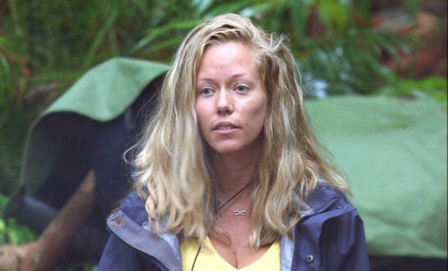 ***EMBARGO NOT TO BE USED BEFORE 21:00, 27 Nov 2014 - EDITORIAL USE ONLY - NO MERCHANDISING***  Mandatory Credit: Photo by REX (4272195cq)  Kendra Wilkinson  'I'm A Celebrity...Get Me Out Of Here!' TV Programme, Australia - 28 Nov 2014  Morning Glory - Jimmy gets the camp going on a damp morning