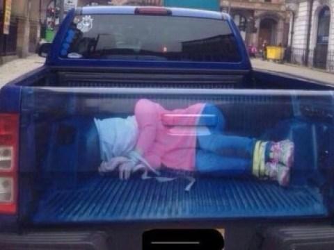 'Rapetruck' man fired from gym job for kidnap bumper sticker