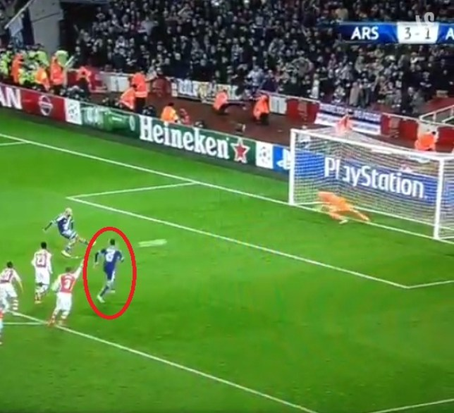 Anderlecht should have been made to retake their penalty (Picture: Sky)