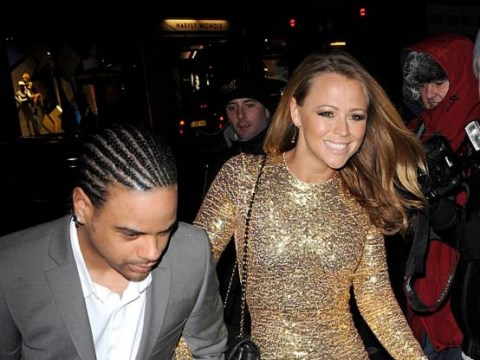 Kimberley Walsh makes women everywhere jealous by showing off the size of her engagement ring