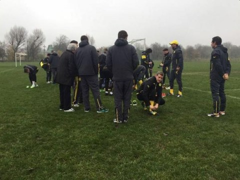 Jurgen Klopp takes Borussia Dortmund players to train in Regent's Park ahead of Arsenal Champions League clash