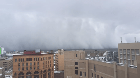 Eerie Buffalo 'Lake Effect' shows the ominous power of the elements