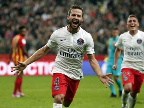 Manchester United set to make transfer offer for PSG outcast Yohan Cabaye