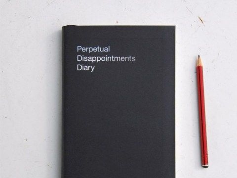 The perpetual disappointment diary is what every cynic needs in 2015