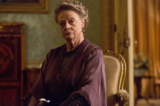 The Dowager Countess played by Dame Maggie Smith