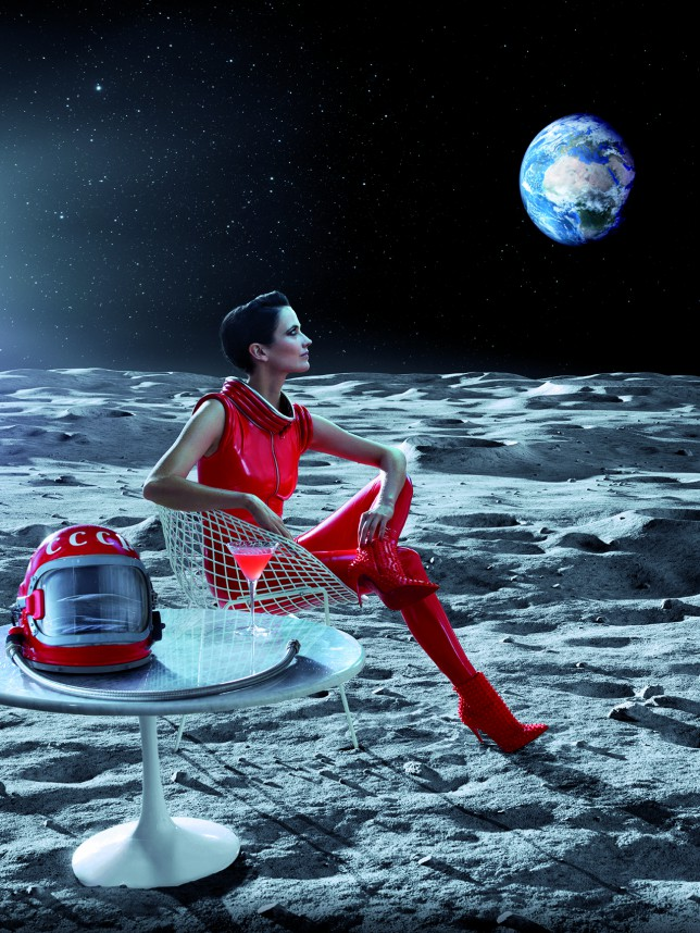 Eva Green dazzles in red in Campari Calendar 2015 dubbed Mythology Mixology