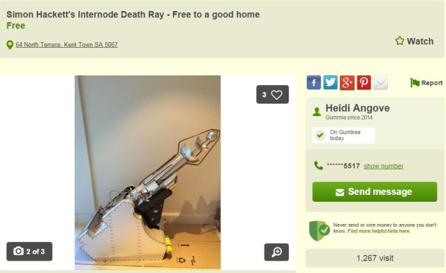(Picture: Gumtree)