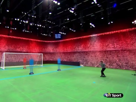 Owen Hargreaves scores sublime rabona goal with first touch in two years during BT Sport appearance