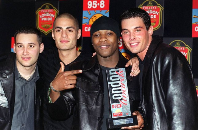 SHOWBIZ Awards/95.8/Level2...R'n'B group Another Level, with their award for Favourite newcomer, which they received during the 95.8 Capital FM 1999 London Awards lunch, at London s Royal Lancaster Hotel, Wednesday March 31, 1999. PA photo: Fiona Hanson/PA...A