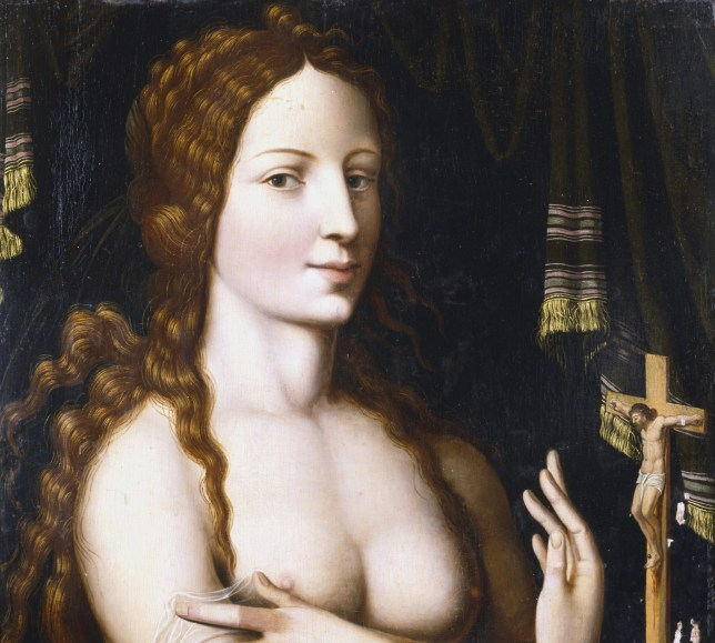 Mary Magdalene. Thankfully, the Messiah made an honest woman of the saucy minx (Picture: Rex/Universal History)