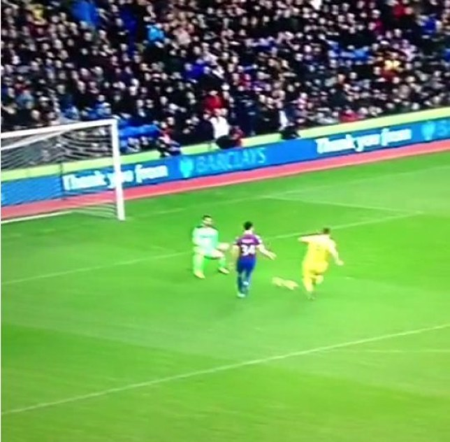Rickie Lambert nets his first goal for Liverpool against Crystal Palace
