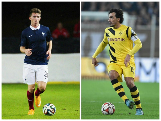 Aymeric Laporte (left) and Mats Hummels (right)