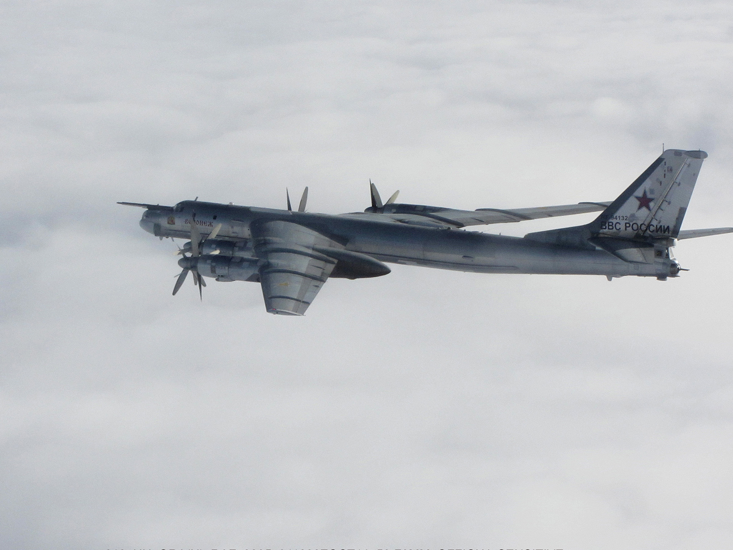US Air Force officers: Russian bombers are flying nuclear drills