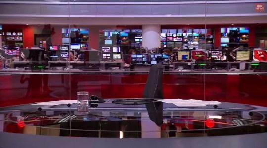 BBC News presenter Martine Croxall forced to cover up live