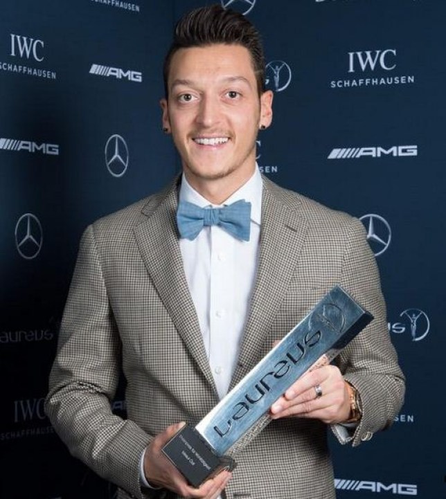 ozil award