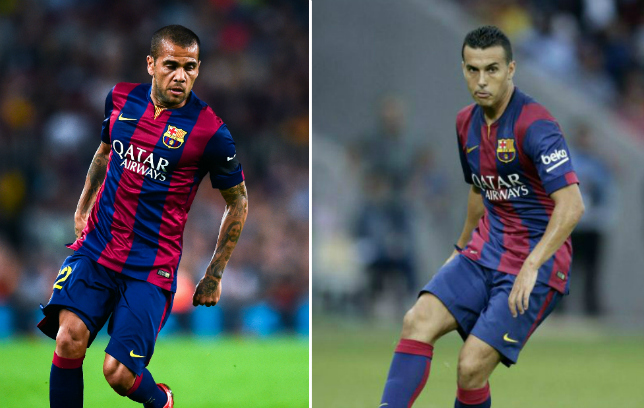 Arsenal to launch £30m transfer offer for Barcelona stars Dani Alves and Pedro