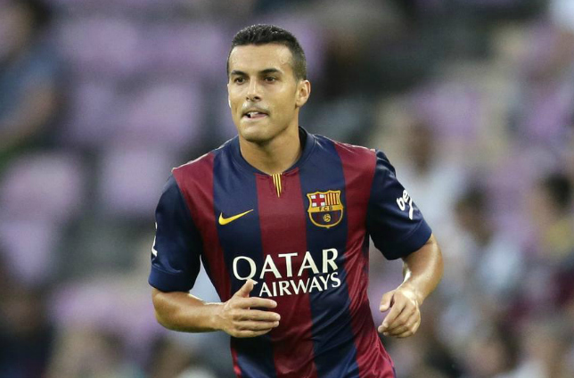 Pedro could be staying with Barcelona this season (Picture:Getty)