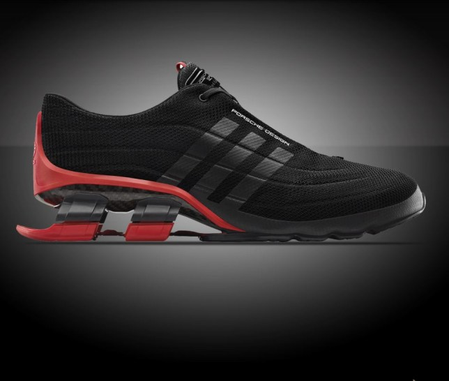 6e7acac6aa1b6 Porsche Bounce S4 running shoes with car-style suspension look like ...