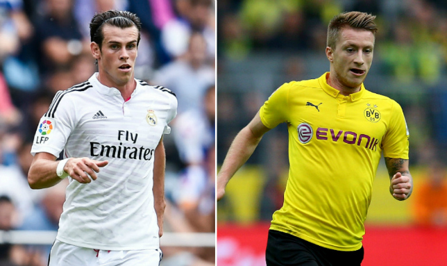 reus-bale (comp of getty images)