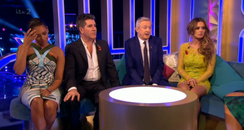 X Factor 2014: Mel B accuses Louis Walsh of 'wimping out' for sending to deadlock (again)