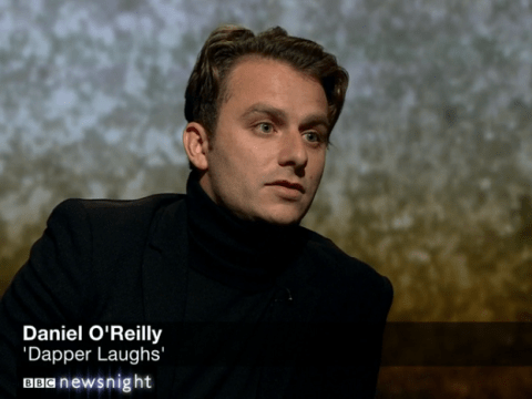 Dapper Laughs on Newsnight: 'I'm completely ruined'