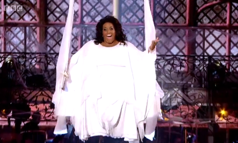 Strictly Come Dancing 2014: Alison Hammond makes 'campest entrance of all time' on Halloween night