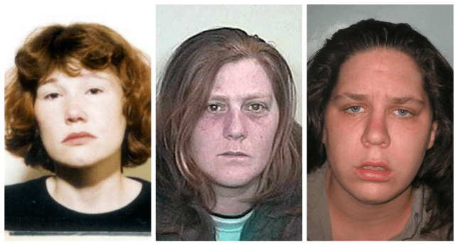 Maxine Carr, Karen Matthews and Tracey Connelly are all living in the same town