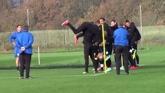 Malky Mackay's training methods are slightly odd (Picture: YouTube)