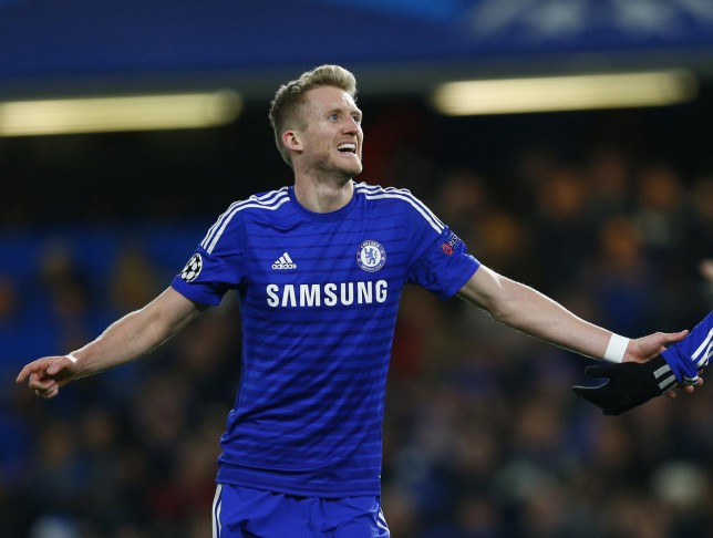 Andre Schurrle had been tipped to leave Chelsea in January (Picture: Reuters)