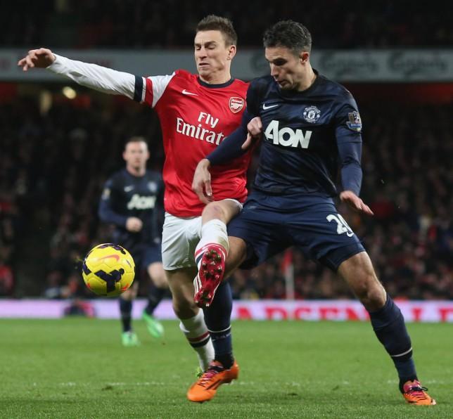Ex-Arsenal midfielder Emmanuel Frimpong reveals reason why Robin van Persie left for Manchester United