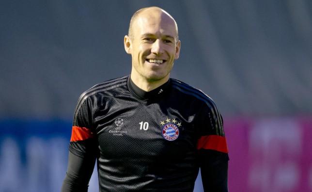 Arjen Robben of Bayern Munich