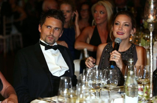 Matt Bellamy and Kate Hudson in 2013 (Picture: GETTY)